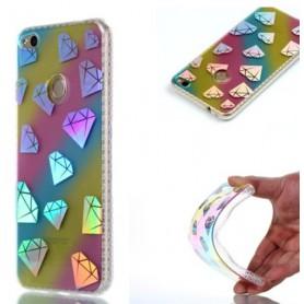 Huawei Honor 8 Lite värikkäät timantit suojakuori.