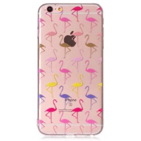 Apple iPhone 7/8/SE 2020 flamingot suojakuori.