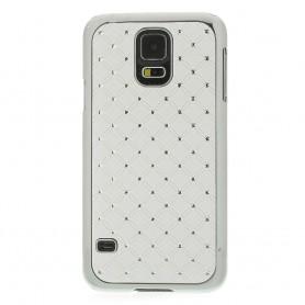 Galaxy S5 valkoiset luksus kuoret