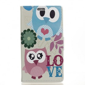 Huawei Honor 6A söpöt pöllöt suojakotelo
