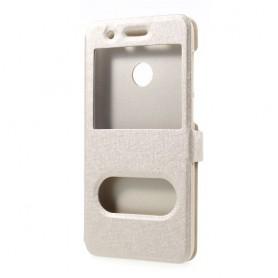 Huawei P9 Lite Mini kullan värinen ikkunakotelo