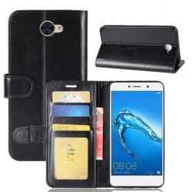 Huawei Y7 musta suojakotelo