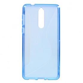 Nokia 8 sininen suojakuori