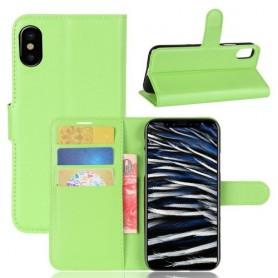 iPhone X / Xs vihreä suojakotelo