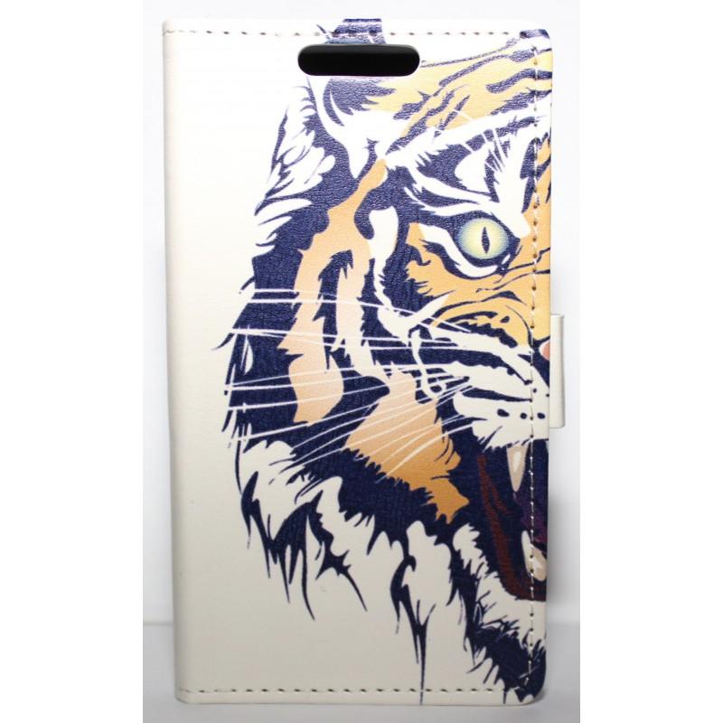 Lumia 630 tiikeri puhelinlompakko