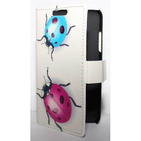 Lumia 630 leppäkertut puhelinlompakko