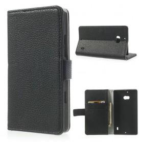 Lumia 930 musta puhelinlompakko