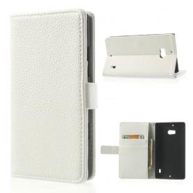 Lumia 930 valkoinen puhelinlompakko