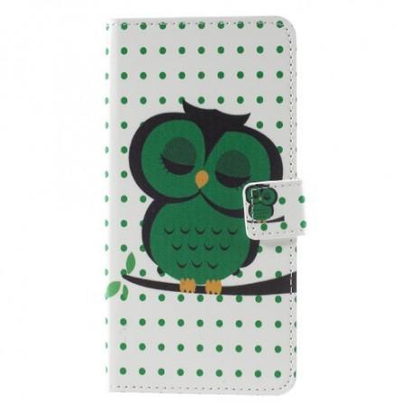 Nokia 8 vihreä pöllö suojakotelo