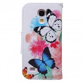 Samsung Galaxy s4 mini perhoset suojakotelo