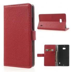 Lumia 930 punainen puhelinlompakko