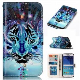 Samsung Galaxy S6 sininen tiikeri suojakotelo
