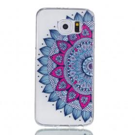 Samsung Galaxy S6 värikäs mandala suojakuori.