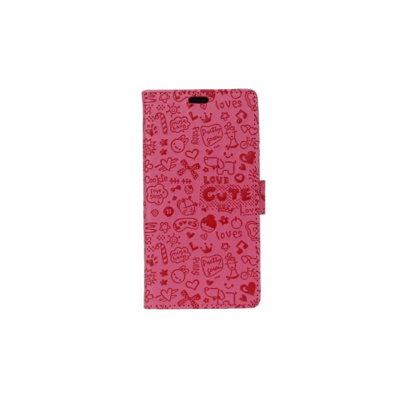 Nokia 2 pinkki kuvioitu suojakotelo