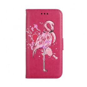 Huawei Honor 8 Lite hot pink flamingo suojakotelo