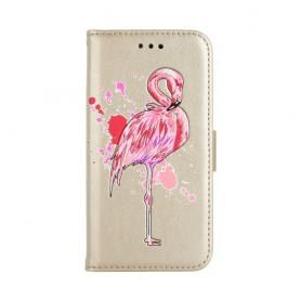 Huawei Honor 8 Lite kullanvärinen flamingo suojakotelo