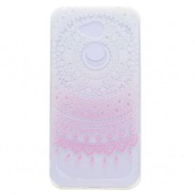 Huawei Honor 6A vaaleanpunainen mandala suojakuori.