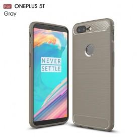 OnePlus 5T harmaa suojakuori