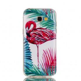 Samsung Galaxy A5 2017 flamingo suojakuori.