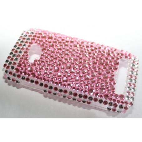Lumia 710 vaaleanpunaiset bling kuoret.