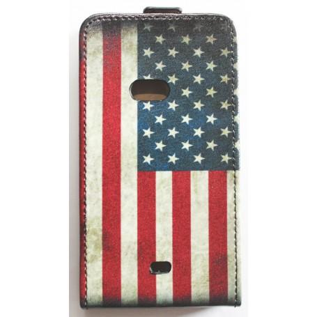 Lumia 720 yhdysvaltojen lippu läppäkotelo.