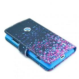 Lumia 520 värikäs lompakkokotelo.