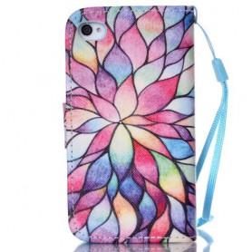 Apple iPhone 4s värikäs puhelinlompakko