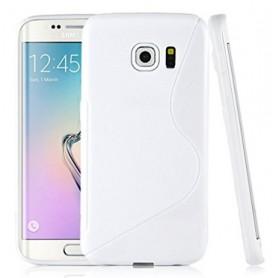 Samsung Galaxy S6 Edge valkoinen suojakuori