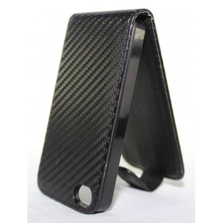 Apple iPhone 4 musta läppäkotelo.