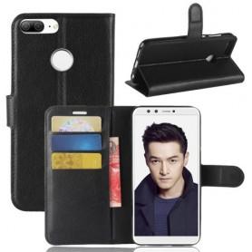 Huawei Honor 9 Lite musta suojakotelo