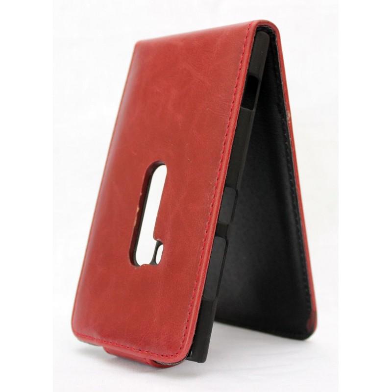 Lumia 920 punainen läppäkotelo.