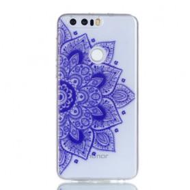 Huawei Honor 8 violetti mandala suojakuori.