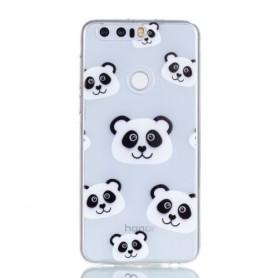 Huawei Honor 8 pandat suojakuori.