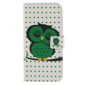 Huawei Honor 9 Lite vihreä pöllö suojakotelo