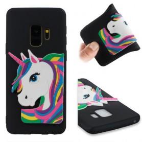 Samsung Galaxy S9 musta ykisarvinen suojakuori.