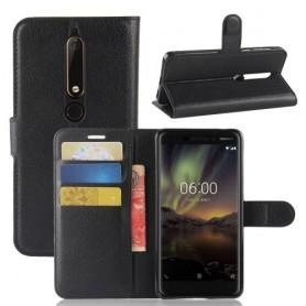 Nokia 6 2018 musta suojakotelo