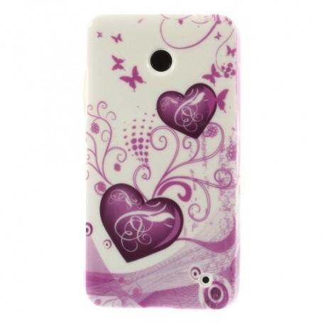 Lumia 630 sydämet silikonisuojus.