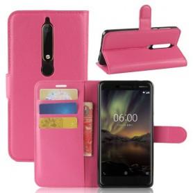 Nokia 6 2018 pinkki suojakotelo
