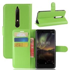 Nokia 6 2018 vihreä suojakotelo