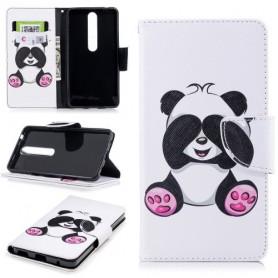 Nokia 6 2018 panda suojakotelo