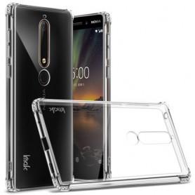 Nokia 6 2018 ultra ohuet läpinäkyvät kuoret