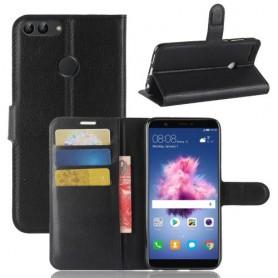 Huawei P Smart musta suojakotelo