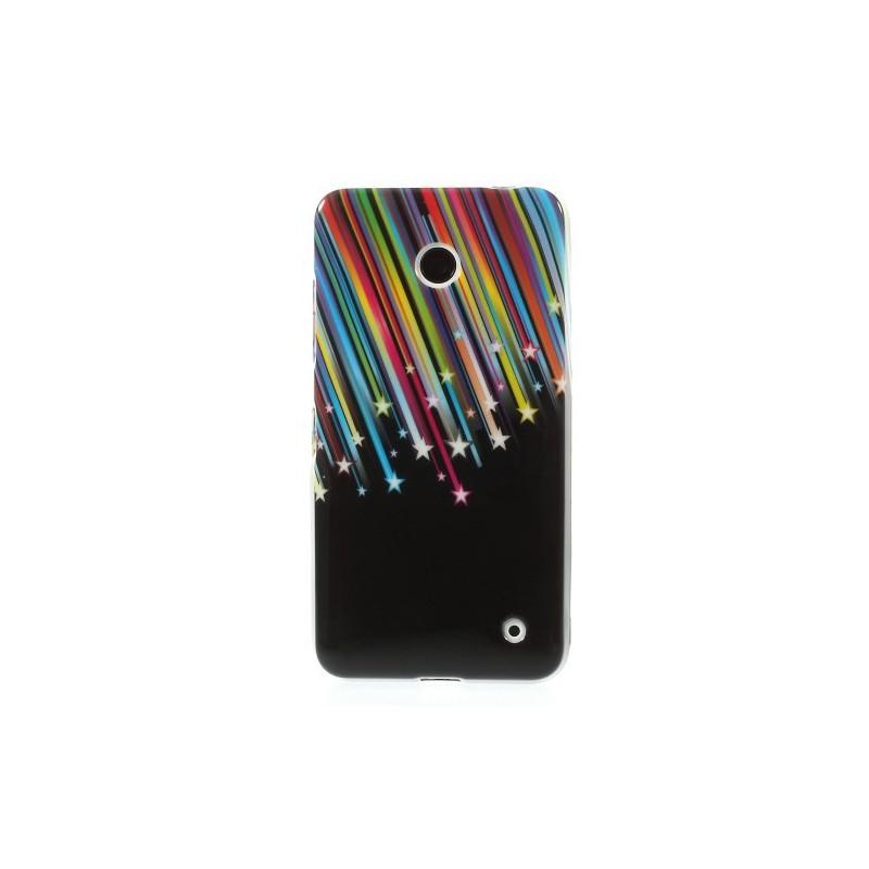 Lumia 630 tähtisade silikonisuojus.