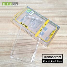Nokia 7 plus ultra ohuet läpinäkyvät kuoret
