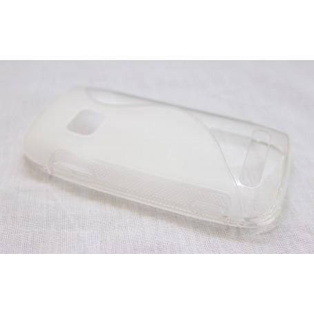 Lumia 710 läpinäkyvä silikoni suojakuori.