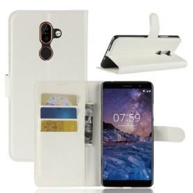 Nokia 7 plus valkoinen suojakotelo