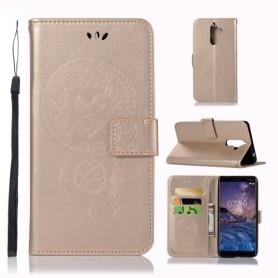 Nokia 7 plus kullanvärinen unisieppari suojakotelo