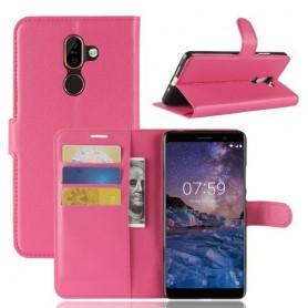 Nokia 7 plus pinkki suojakotelo