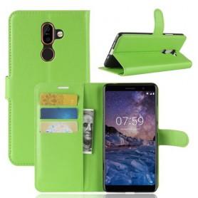 Nokia 7 plus vihreä suojakotelo