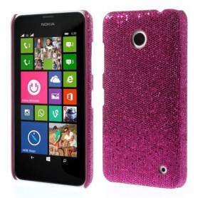 Nokia Lumia 630 hot pink glitter kuoret.